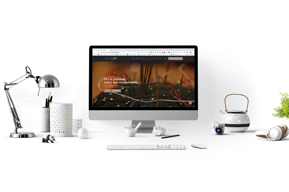 Benvenuti nel mio nuovo sito web - Ago e Filo di Tiziana Berluti