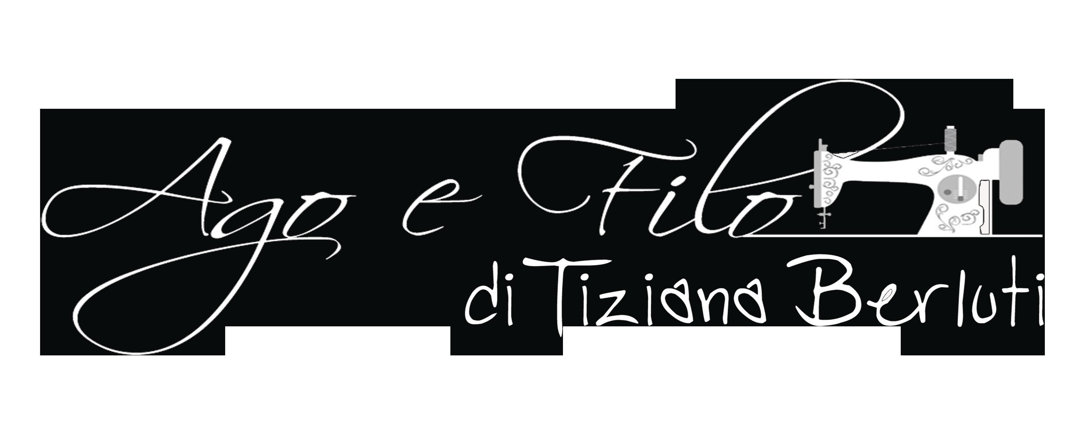 Logo bianco - Ago e Filo di Tiziana Berluti